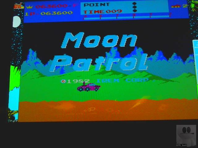 Moon Patrol 63,600 points