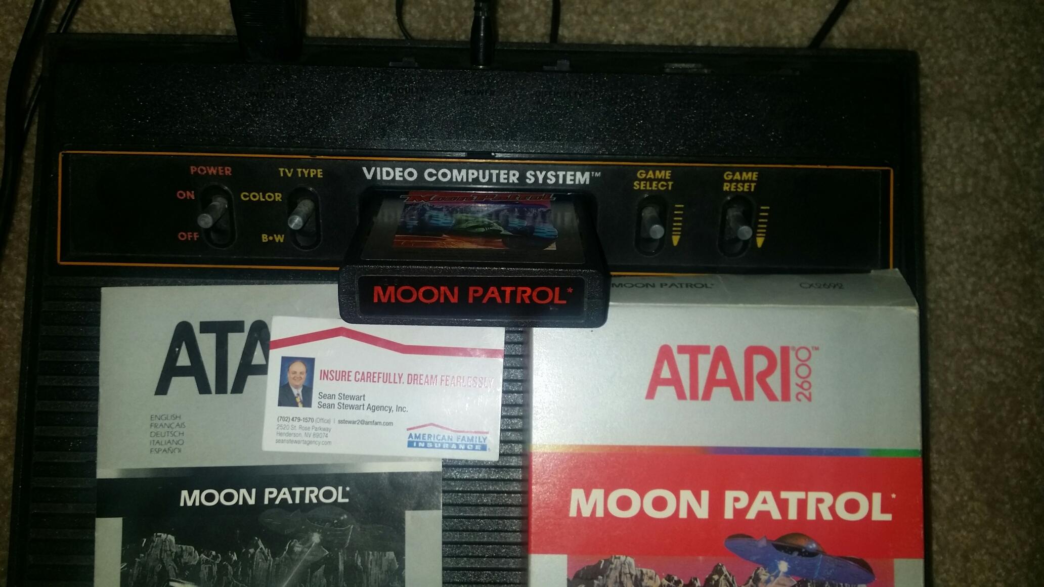 Moon Patrol 21,930 points