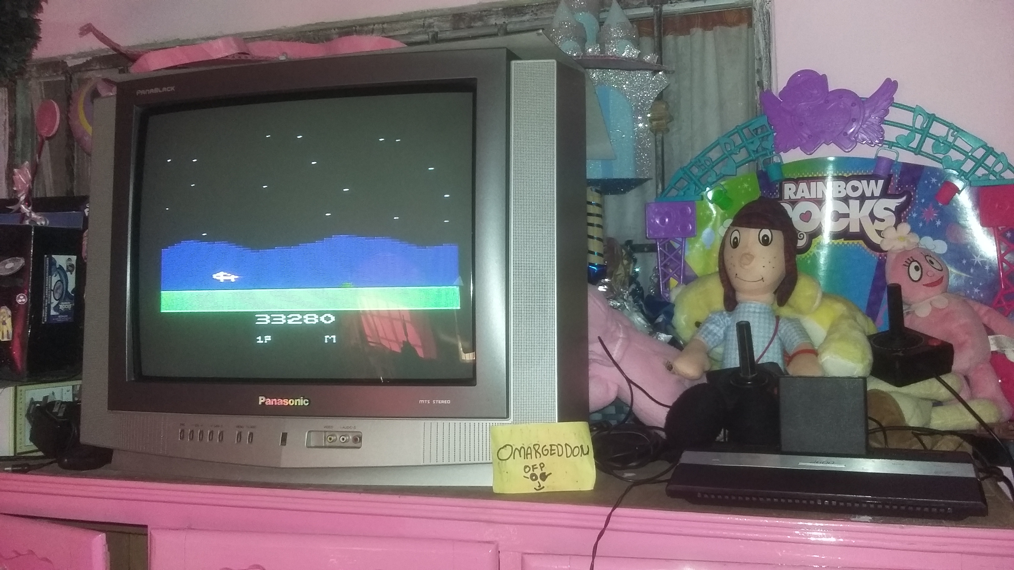 omargeddon: Moon Patrol (Atari 2600 Novice/B) 33,280 points on 2016-12-17 16:28:41