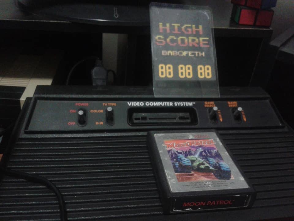 BabofetH: Moon Patrol (Atari 2600 Novice/B) 45,560 points on 2020-06-18 02:40:30