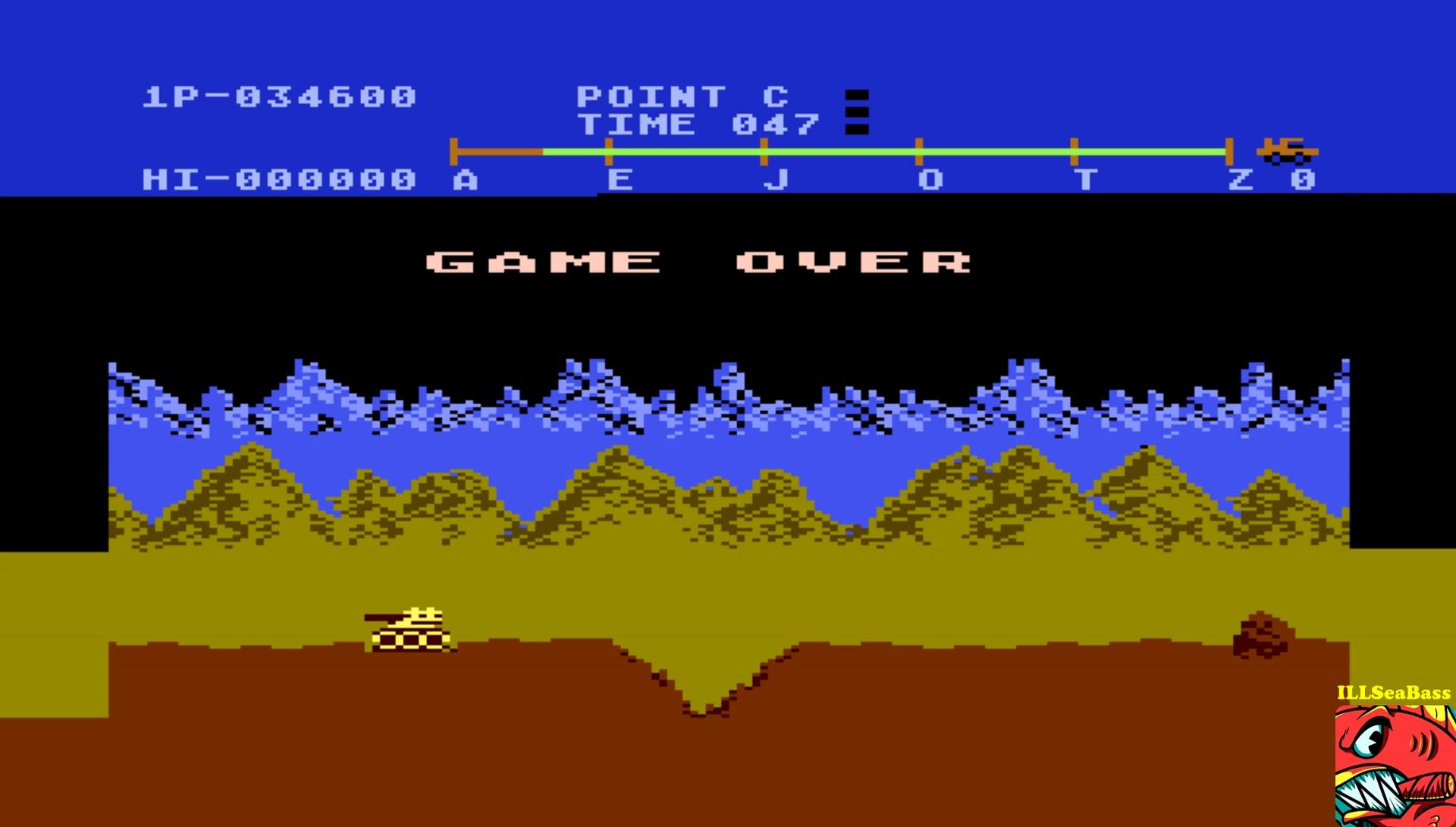 ILLSeaBass: Moon Patrol (Atari 400/800/XL/XE Emulated) 34,600 points on 2017-01-29 21:06:26
