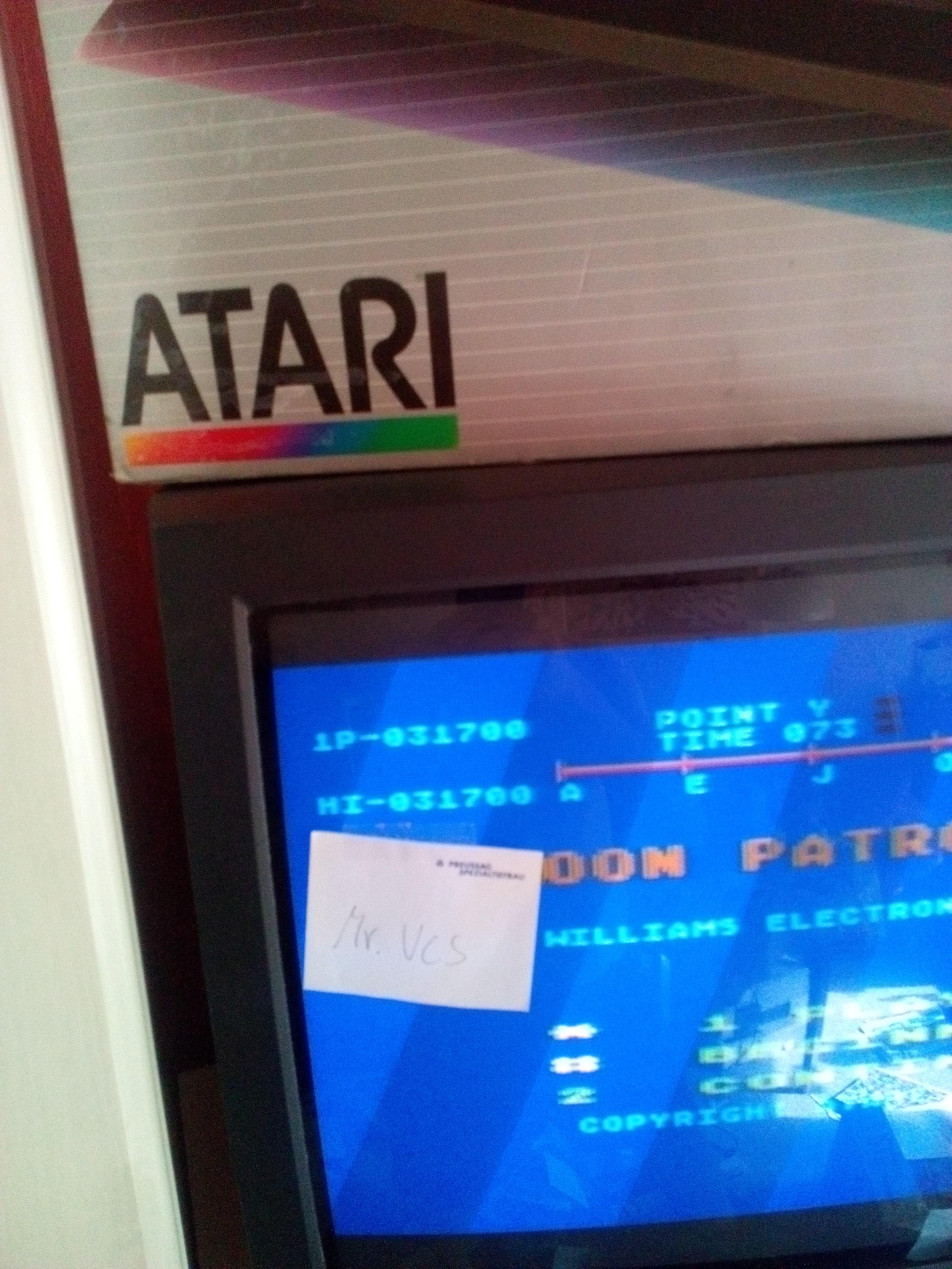 MisterVCS: Moon Patrol (Atari 400/800/XL/XE) 31,700 points on 2017-08-05 10:05:26