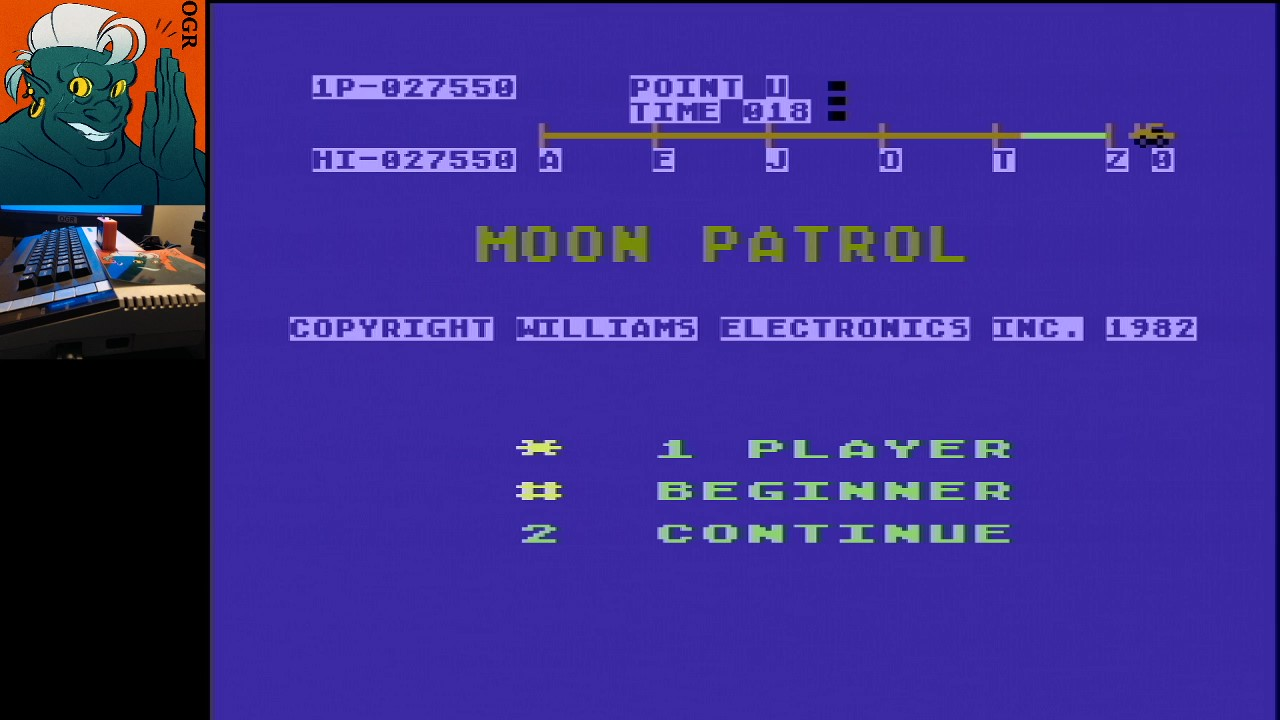 AwesomeOgre: Moon Patrol (Atari 400/800/XL/XE) 27,550 points on 2020-03-06 18:44:14