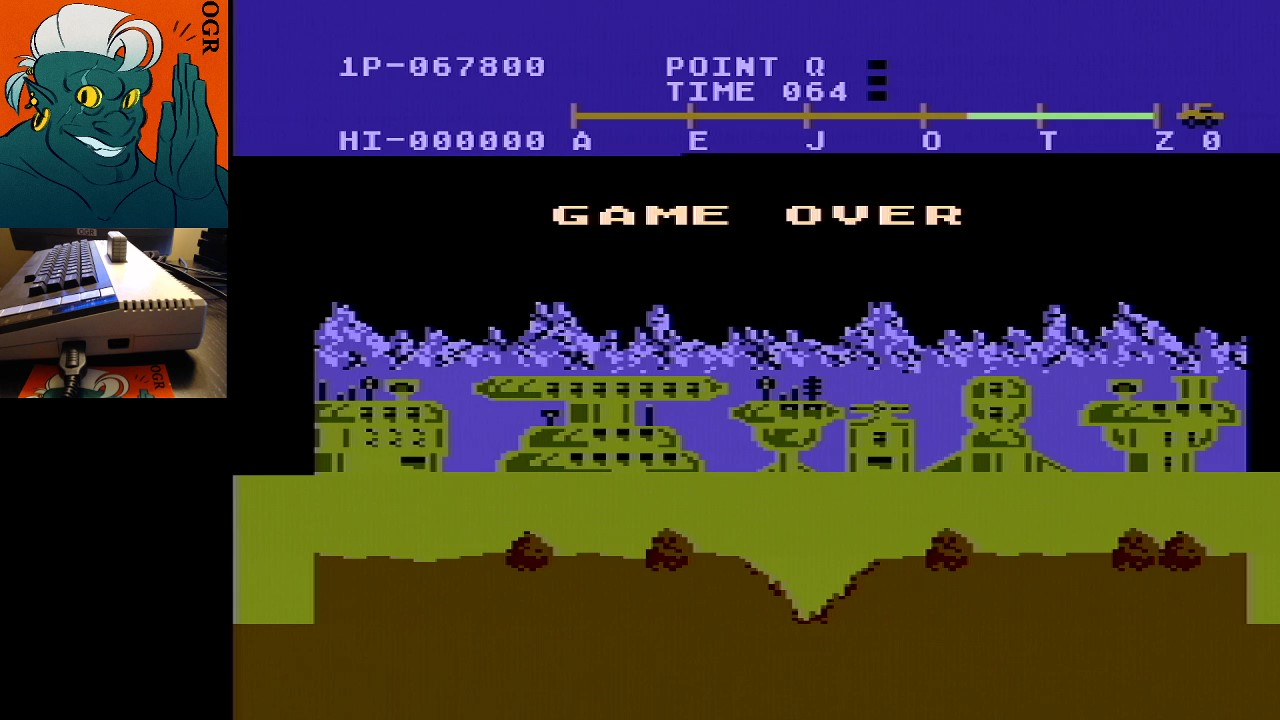 AwesomeOgre: Moon Patrol (Atari 400/800/XL/XE) 67,800 points on 2020-04-27 17:38:21