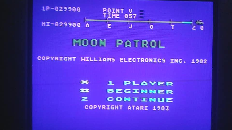 Moon Patrol 29,900 points
