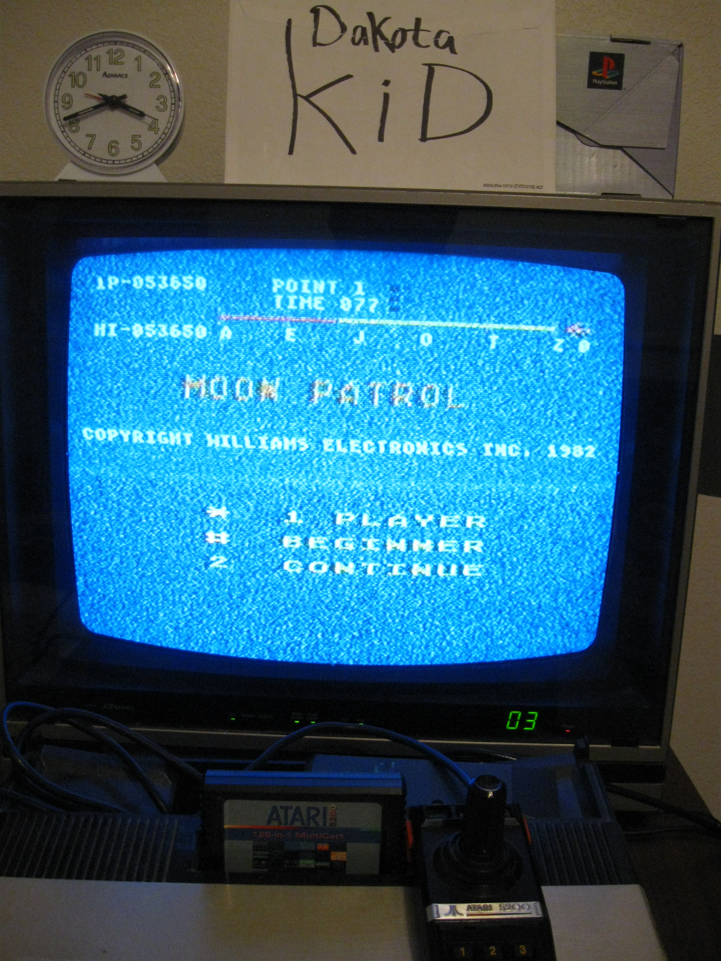Moon Patrol: Beginner 53,650 points