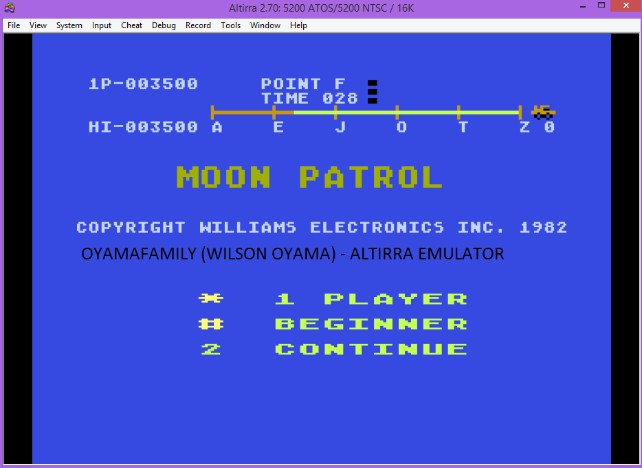 oyamafamily: Moon Patrol: Beginner (Atari 5200 Emulated) 3,500 points on 2017-02-07 17:33:08