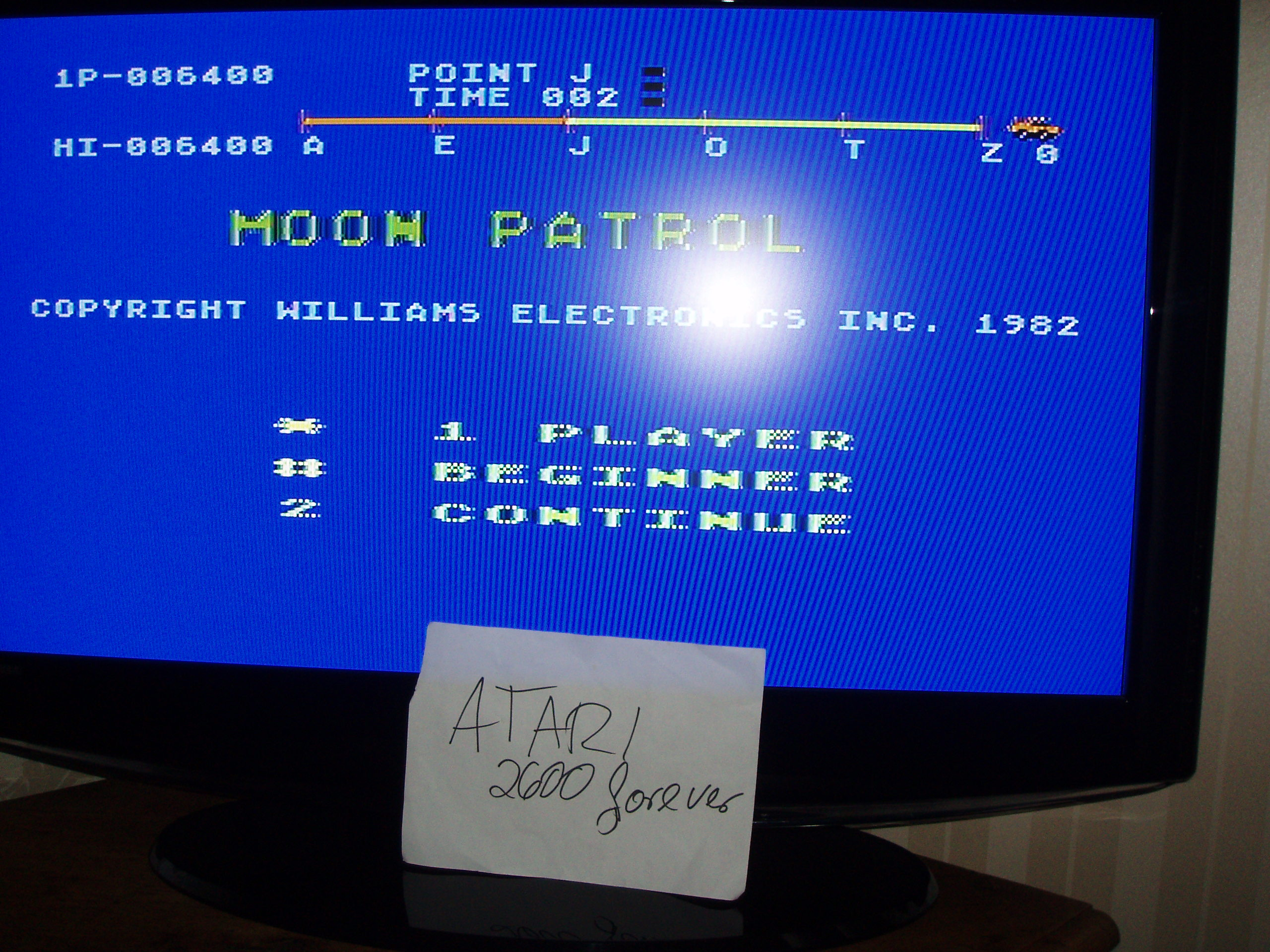 atari2600forever: Moon Patrol: Beginner (Atari 5200) 6,400 points on 2017-12-28 04:41:38