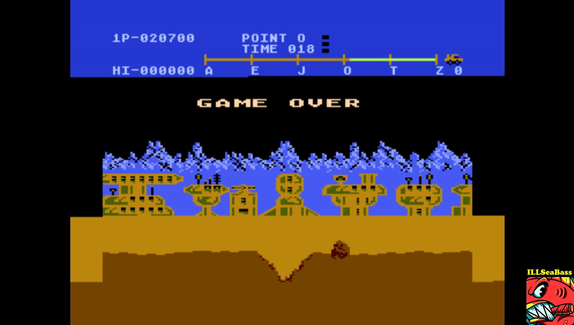 ILLSeaBass: Moon Patrol: Championship (Atari 5200 Emulated) 20,700 points on 2017-02-09 08:31:03