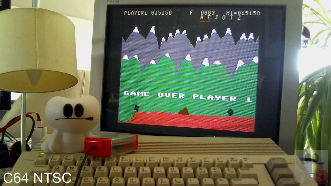 GTibel: Moon Patrol (Commodore 64) 15,150 points on 2020-04-09 05:31:48