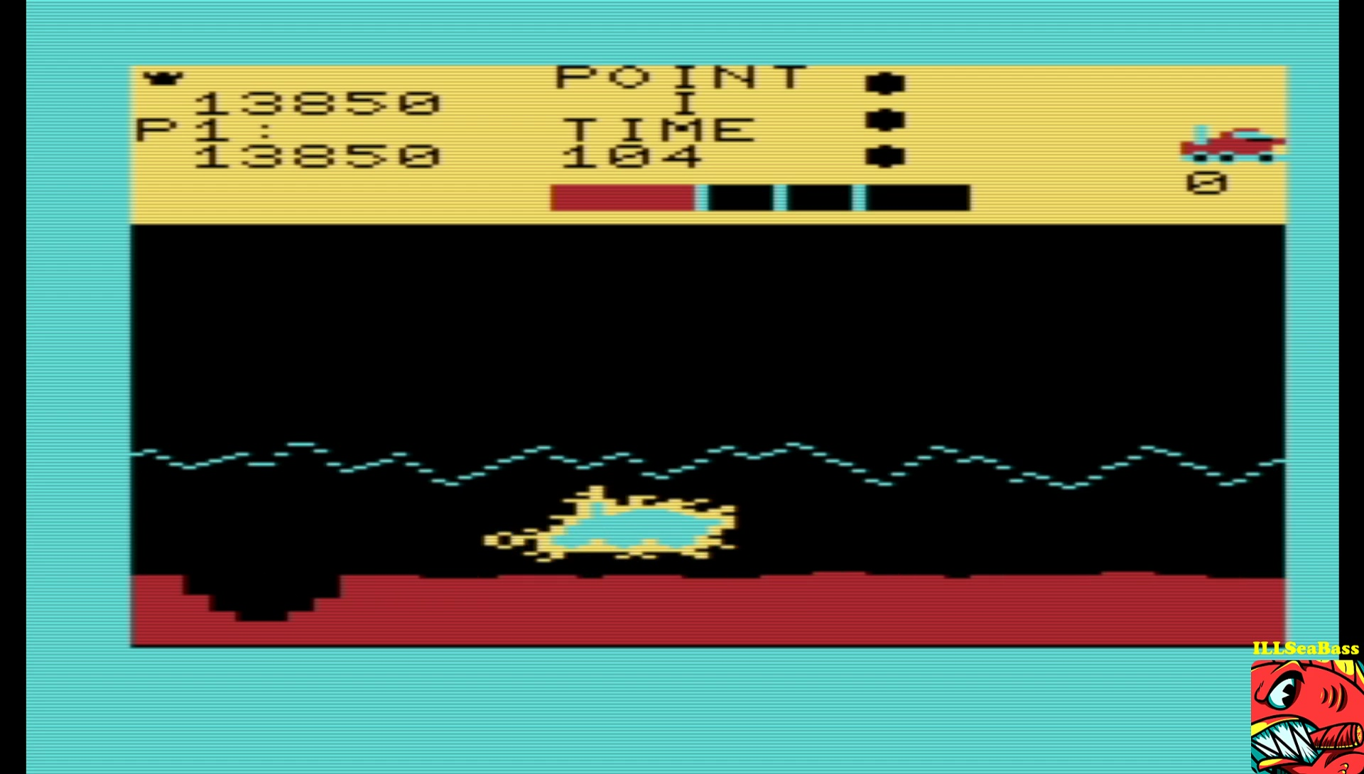 ILLSeaBass: Moon Patrol (Commodore VIC-20 Emulated) 13,850 points on 2017-06-09 22:33:58