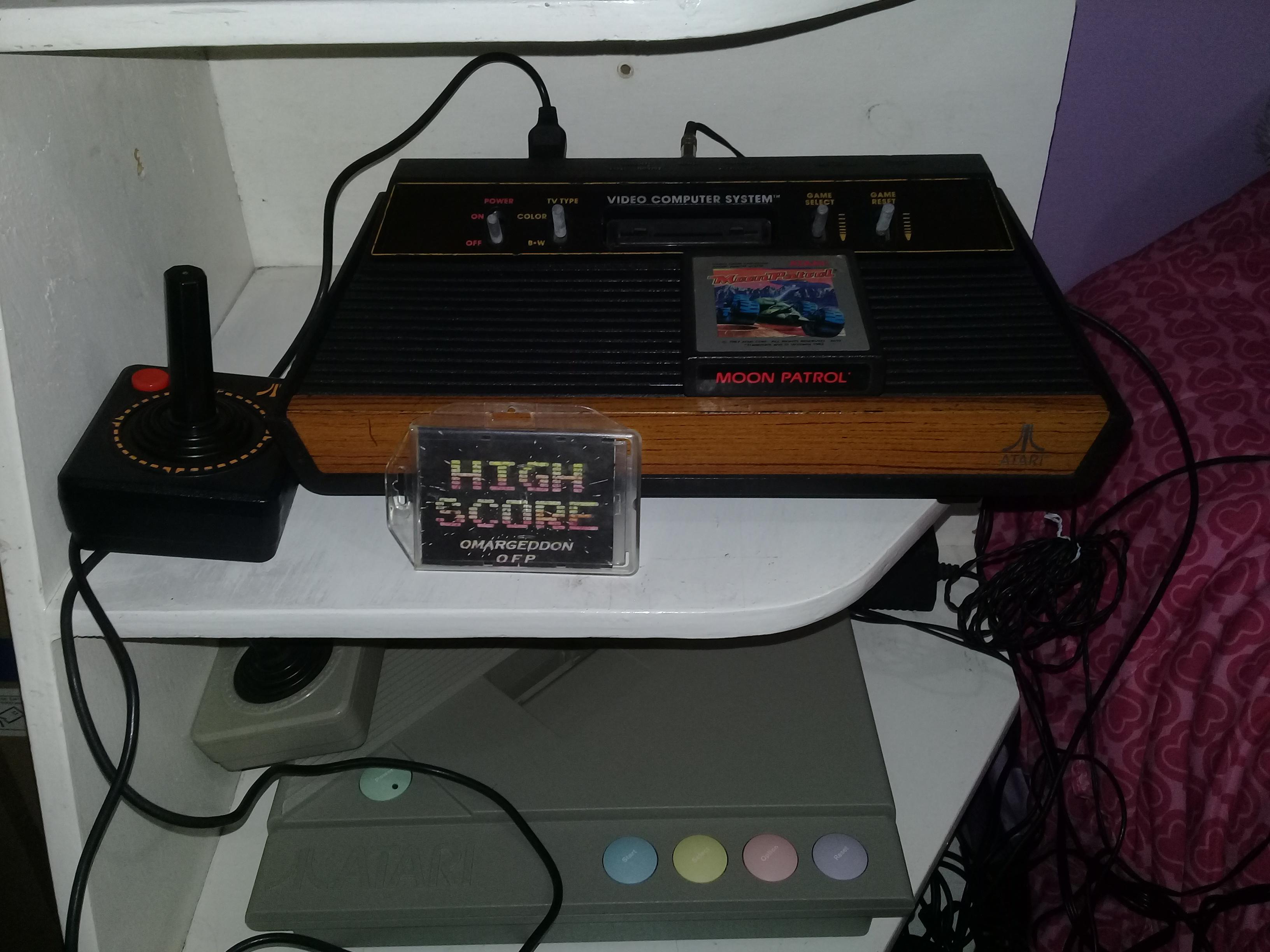 omargeddon: Moon Patrol [Easy] (Atari 2600 Novice/B) 33,050 points on 2019-04-24 22:15:35