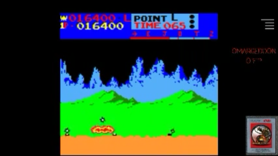omargeddon: Moon Patrol (Game Boy Color Emulated) 16,400 points on 2017-05-19 23:42:45