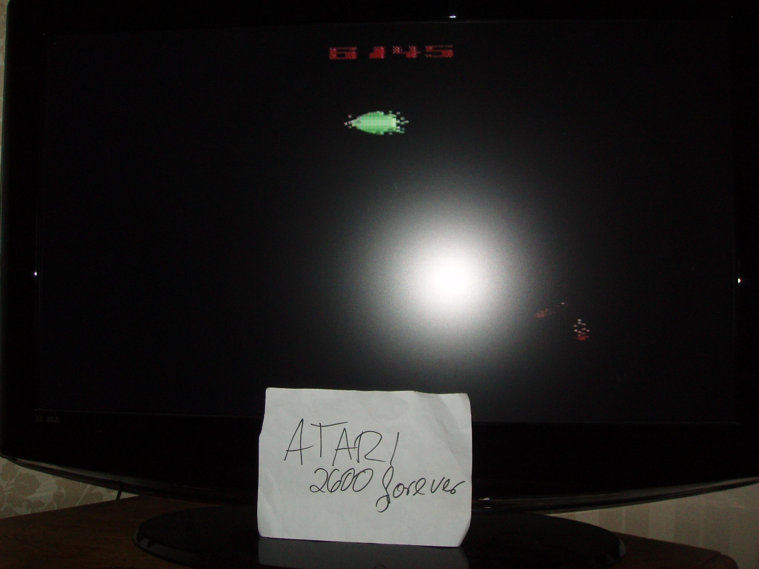 atari2600forever: Moonsweeper (Atari 2600 Novice/B) 6,145 points on 2018-11-20 03:10:17