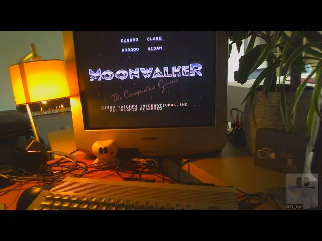 GTibel: Moonwalker (Commodore 64) 23,150 points on 2019-05-18 03:12:04