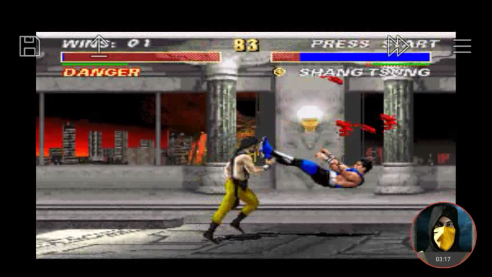 omargeddon: Mortal Kombat 3 [Easy/ Win Streak] (SNES/Super Famicom Emulated) 1 points on 2018-04-29 23:22:10