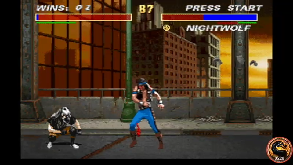 omargeddon: Mortal Kombat 3 [Easy/ Win Streak] (SNES/Super Famicom Emulated) 2 points on 2019-11-24 20:31:44