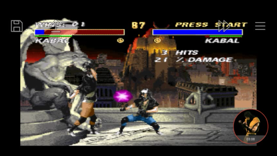 omargeddon: Mortal Kombat 3 [Very Easy/ Win Streak] (SNES/Super Famicom Emulated) 1 points on 2018-01-06 20:59:50