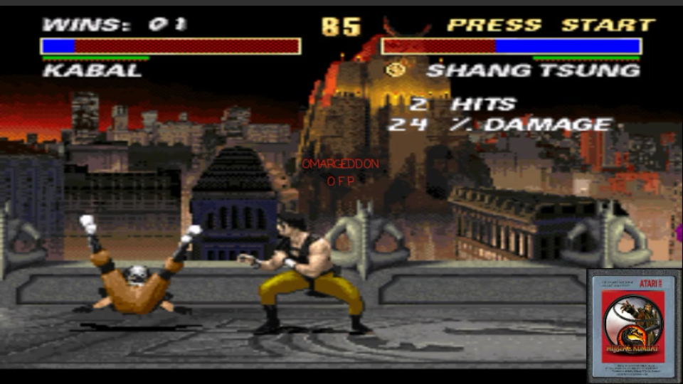 omargeddon: Mortal Kombat 3 [Win Streak] (SNES/Super Famicom Emulated) 1 points on 2017-02-07 23:35:52