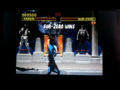 S.BAZ: Mortal Kombat (Arcade Emulated / M.A.M.E.) 969,500 points on 2017-12-05 01:31:05