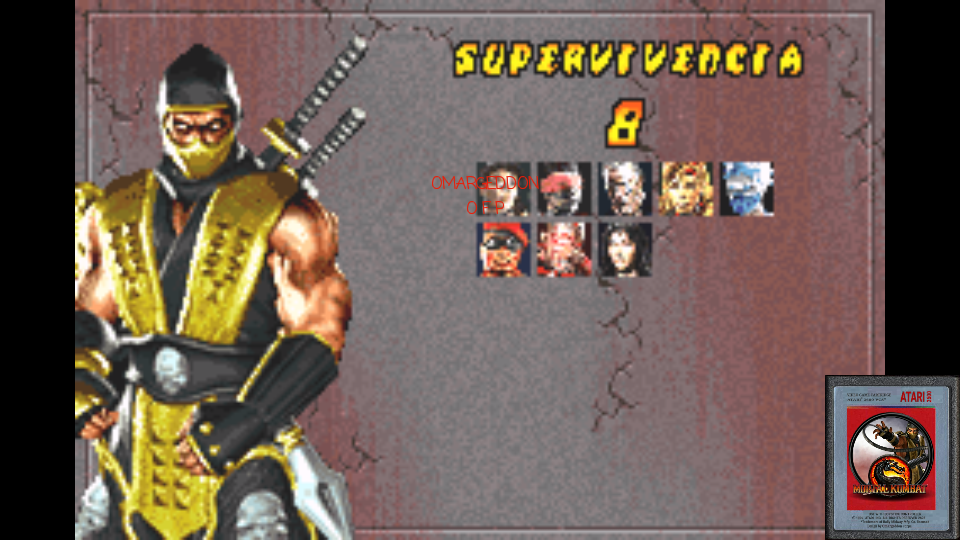 Mortal Kombat Deadly Alliance: Survival 8 points