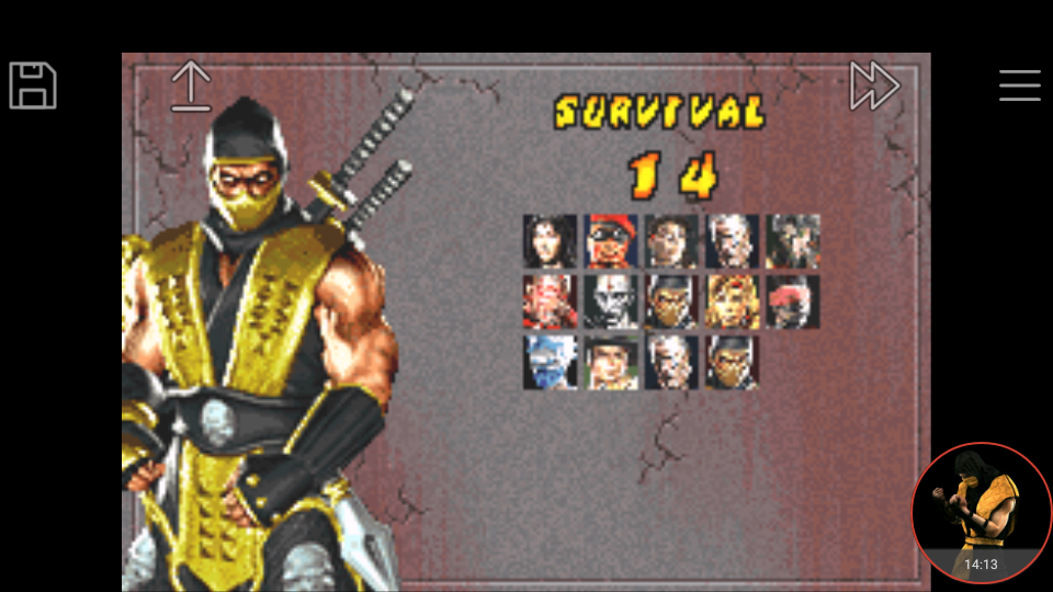 Mortal kombat deadly alliance character select