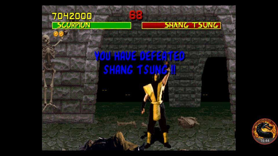 omargeddon: Mortal Kombat [Difficulty: Very Easy] [mk] (Arcade Emulated / M.A.M.E.) 7,042,000 points on 2018-08-23 01:03:25