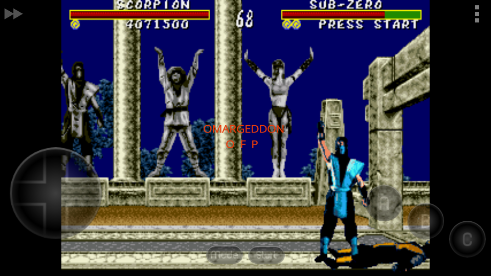Mortal Kombat [Easy] 4,071,500 points