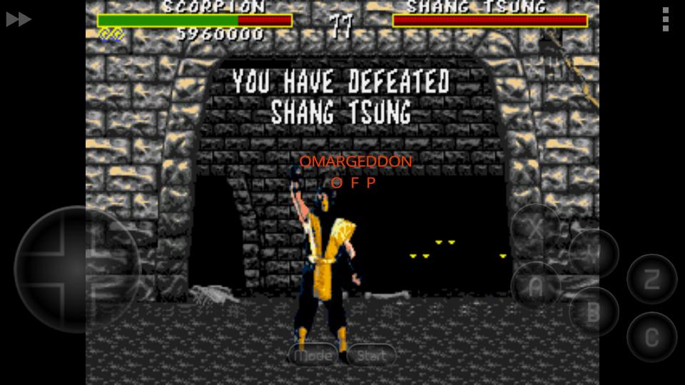 Mortal Kombat [Easy] 5,960,000 points