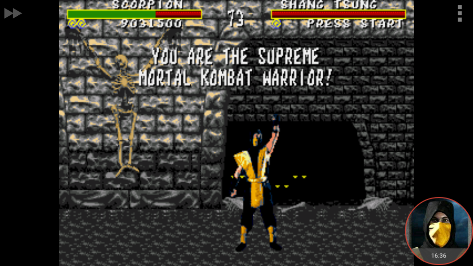 omargeddon: Mortal Kombat [Easy] (Sega Genesis / MegaDrive Emulated) 9,031,500 points on 2018-04-26 18:18:28