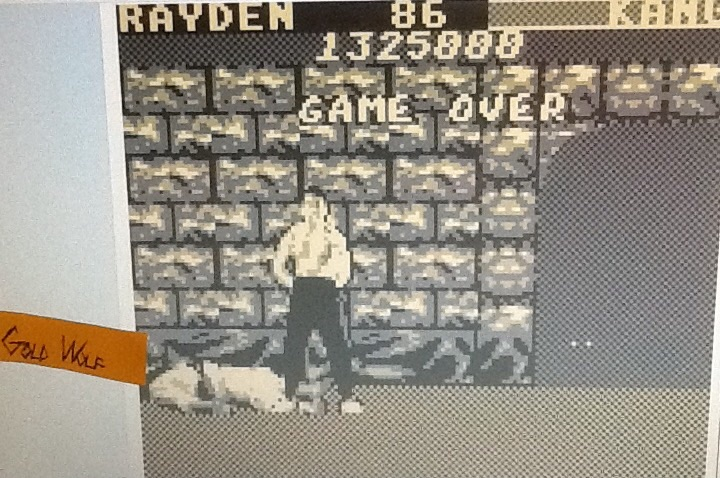 GoldWolf: Mortal Kombat (Game Boy Emulated) 1,325,000 points on 2016-07-04 16:07:28