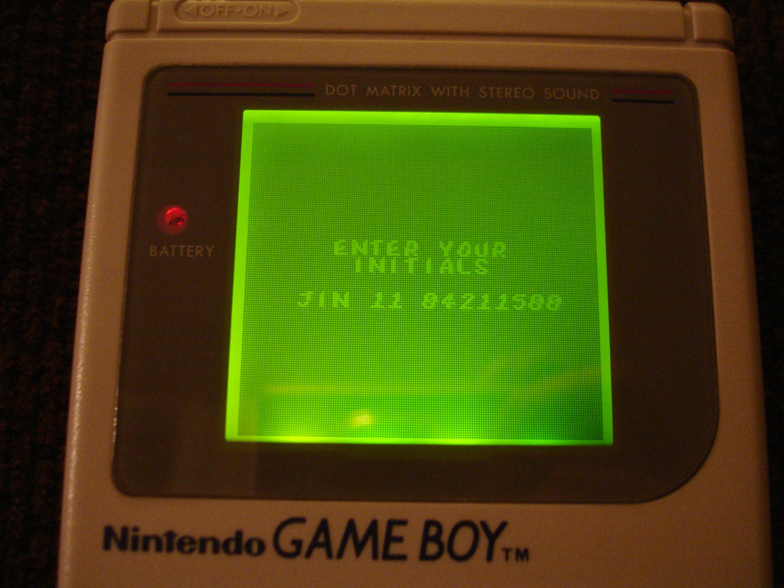 Jin: Mortal Kombat (Game Boy) 4,211,500 points on 2017-04-04 23:47:49