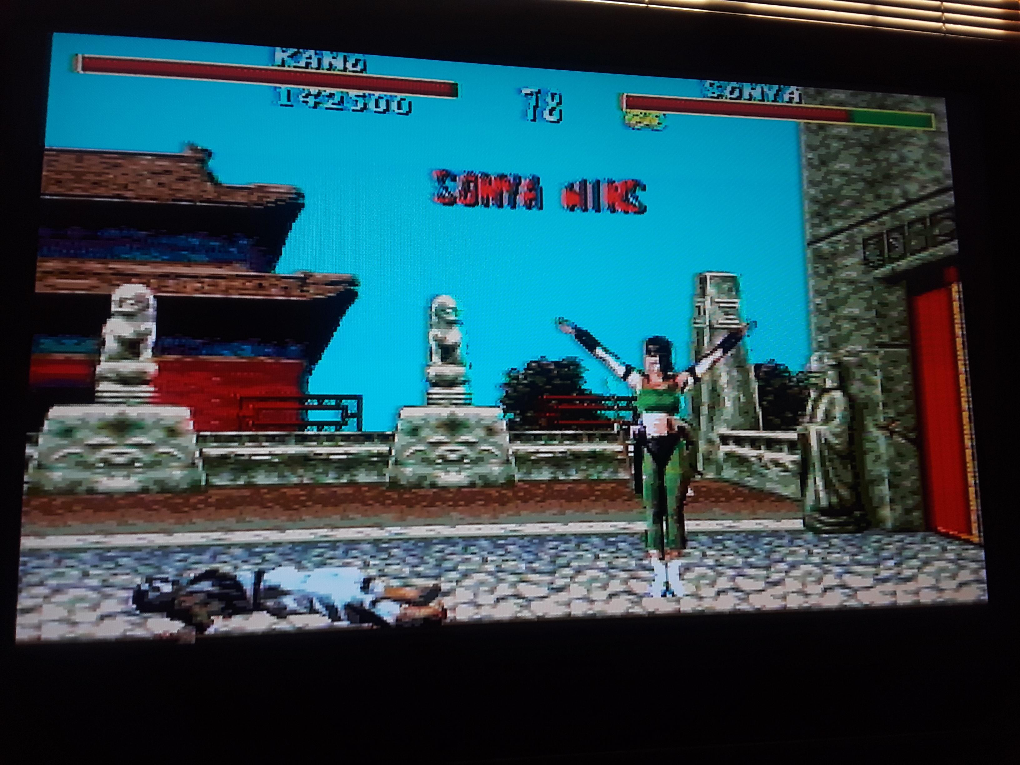 Mortal Kombat [Hard] 142,500 points