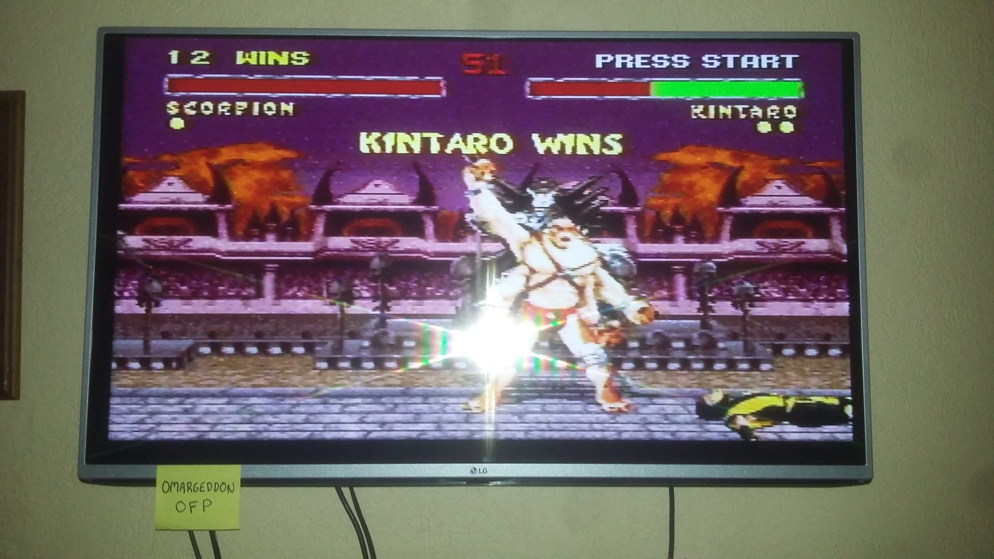 Mortal Kombat II: Very Easy [Win Streak] 12 points