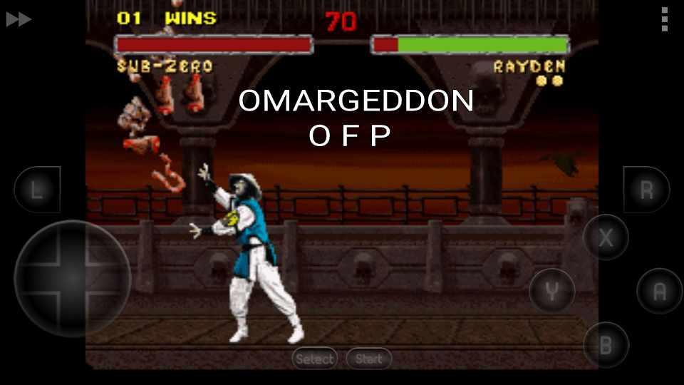 omargeddon: Mortal Kombat II: Very Hard [Win Streak] (SNES/Super Famicom Emulated) 1 points on 2016-10-26 22:14:29