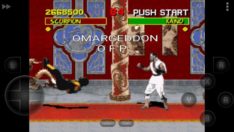 Mortal Kombat [Normal/Easy/No Handicap] 2,668,500 points