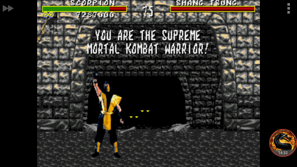 omargeddon: Mortal Kombat [Normal] (Sega Genesis / MegaDrive Emulated) 7,287,000 points on 2018-07-23 01:10:27