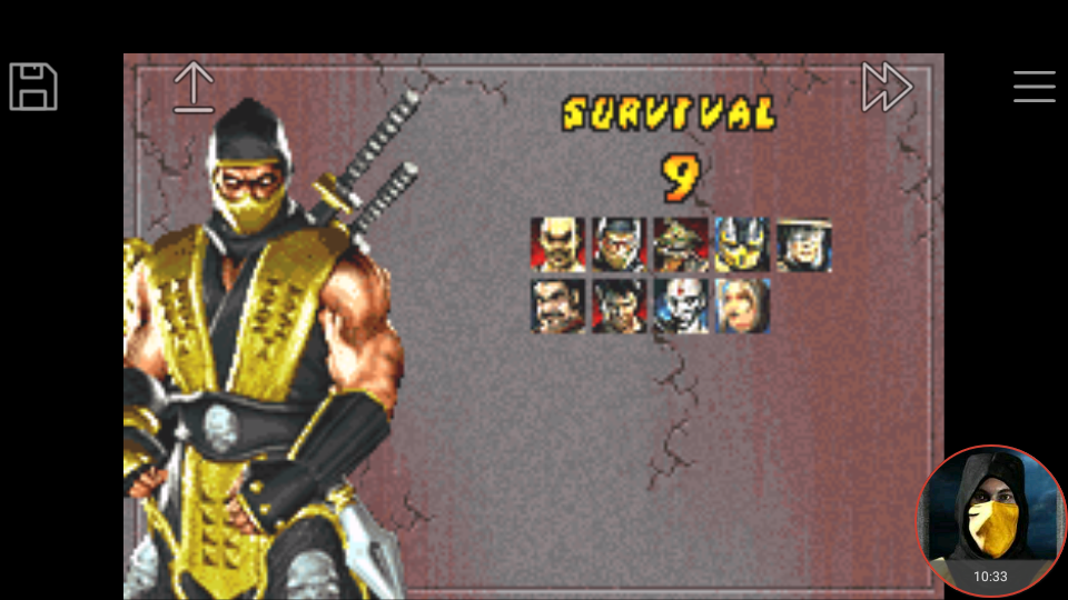 omargeddon: Mortal Kombat Tournament Edition: Survival (GBA Emulated) 9 points on 2018-04-26 17:02:40