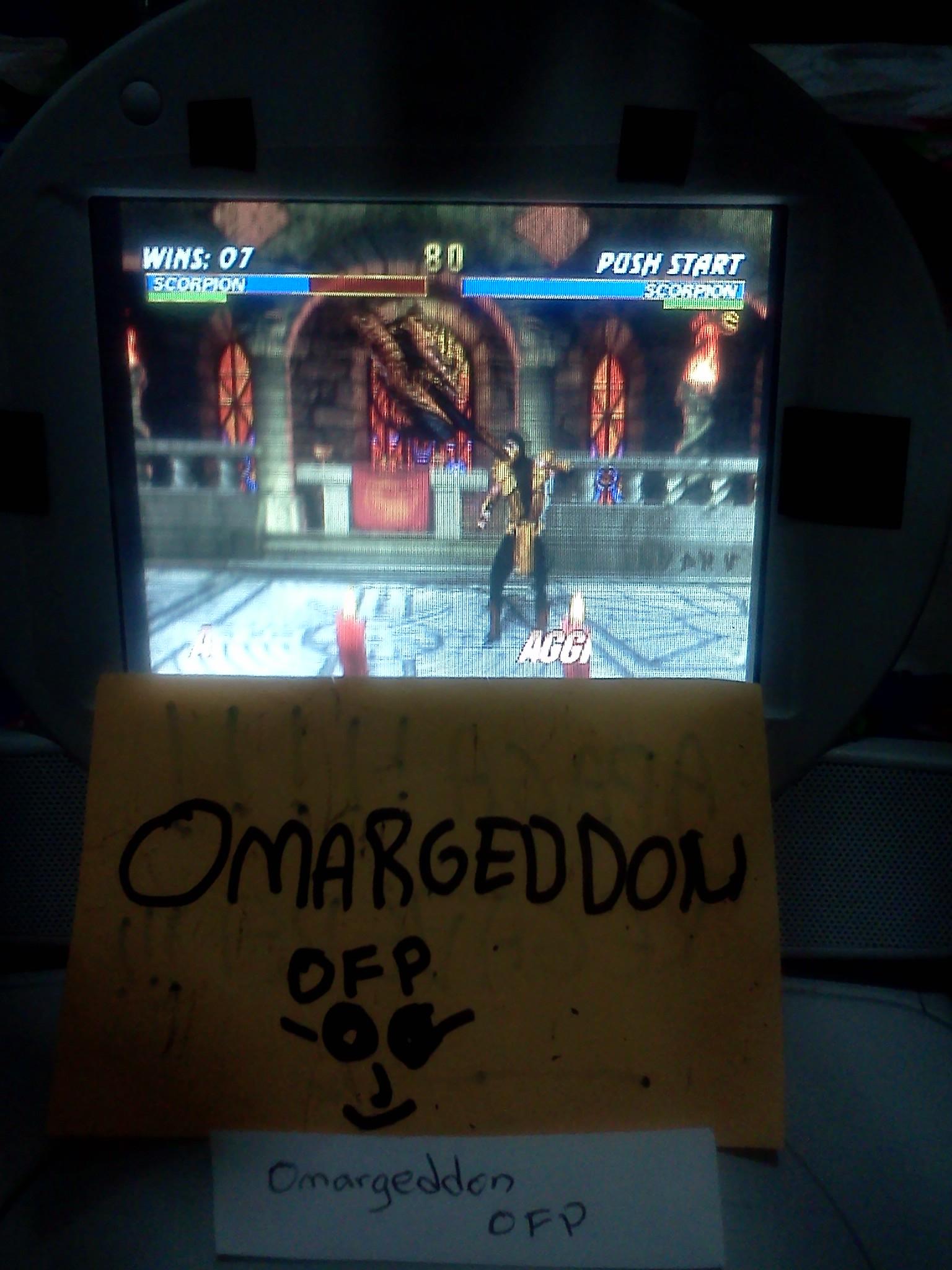 omargeddon: Mortal Kombat Trilogy: Win Streak [Normal] (Playstation 1) 7 points on 2016-07-23 21:28:41