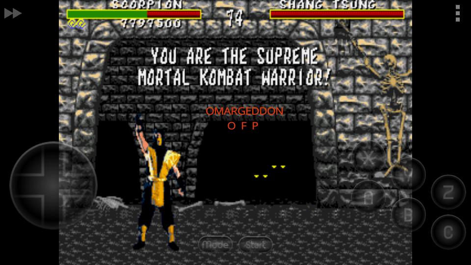 Mortal Kombat [Very Easy] 7,797,600 points