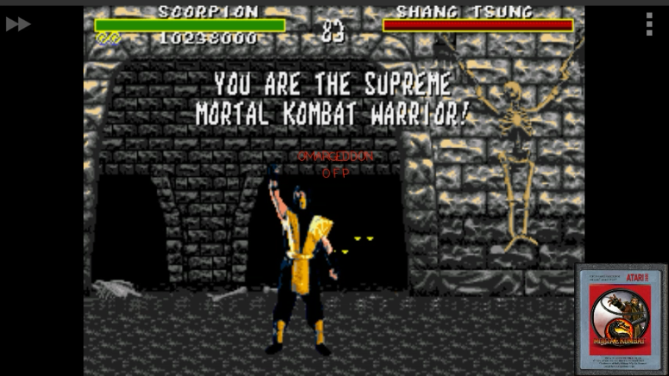 Mortal Kombat [Very Easy] 10,238,000 points
