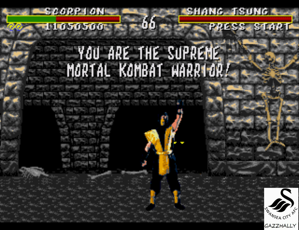 gazzhally: Mortal Kombat [Very Easy] (Sega Genesis / MegaDrive Emulated) 11,050,500 points on 2017-01-26 11:28:14
