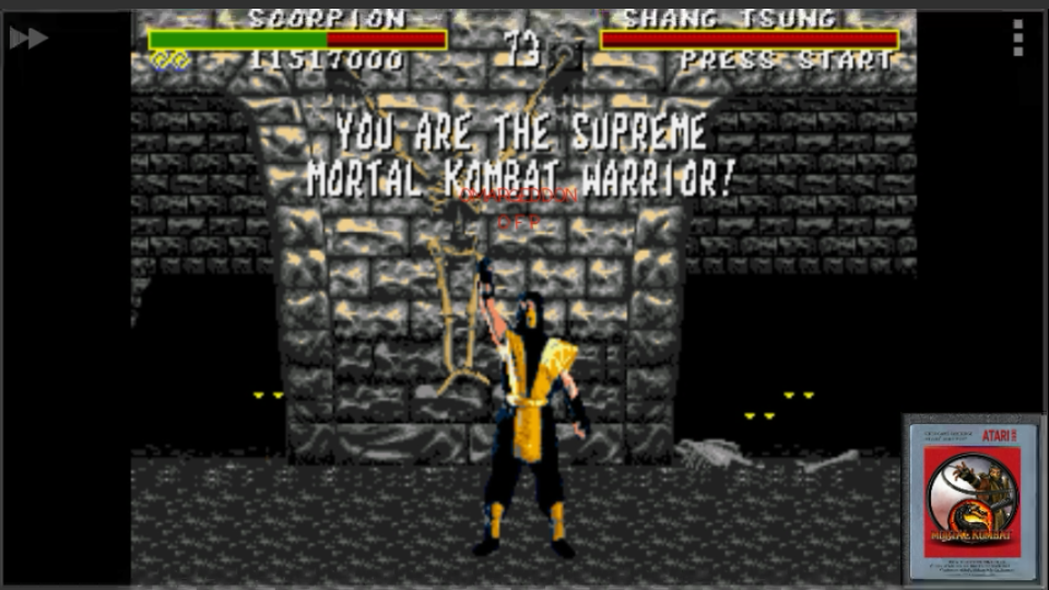 Mortal Kombat [Very Easy] 11,517,000 points
