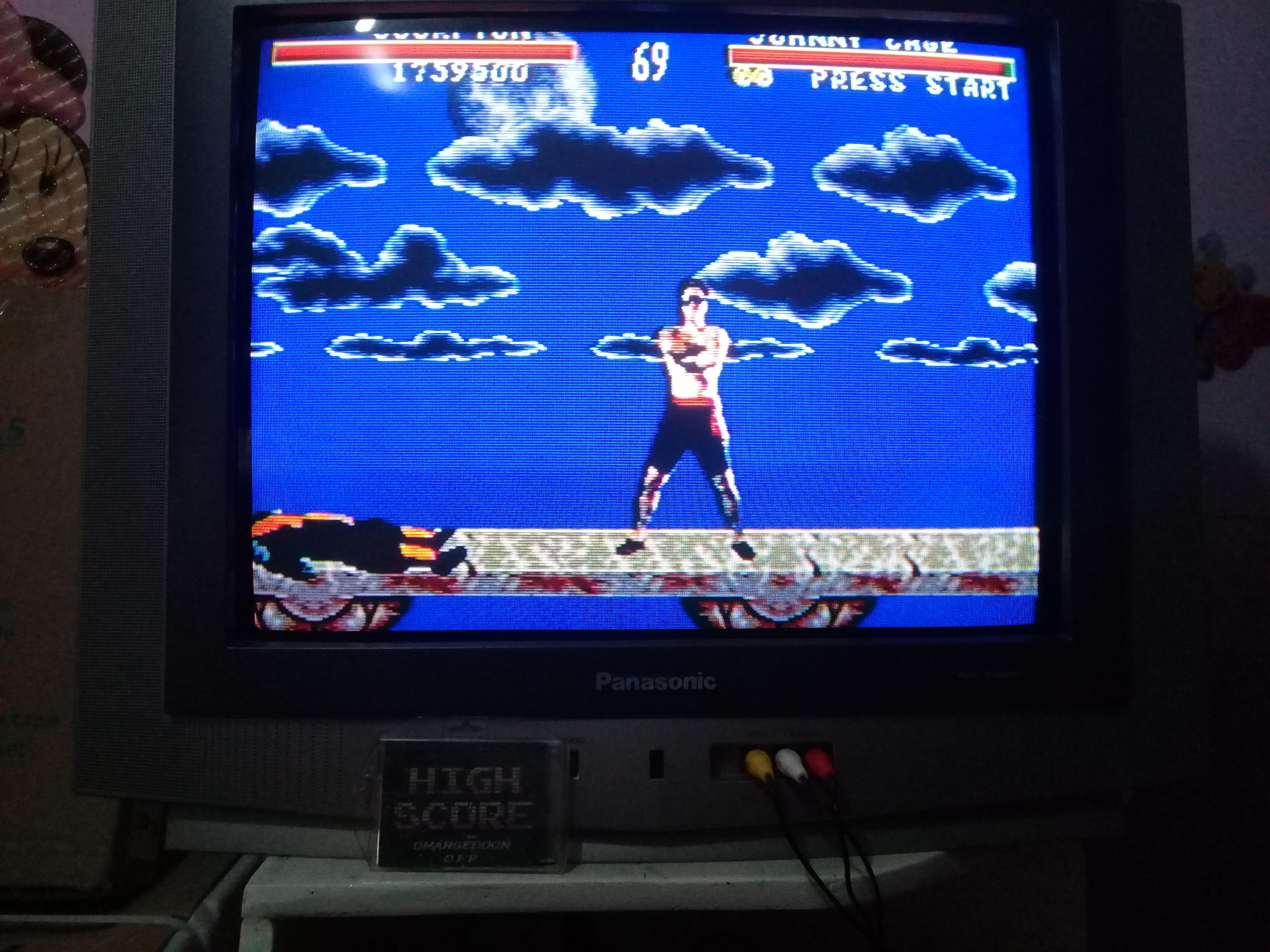 omargeddon: Mortal Kombat [Very Easy] (Sega Genesis / MegaDrive) 1,759,500 points on 2019-03-21 16:17:51