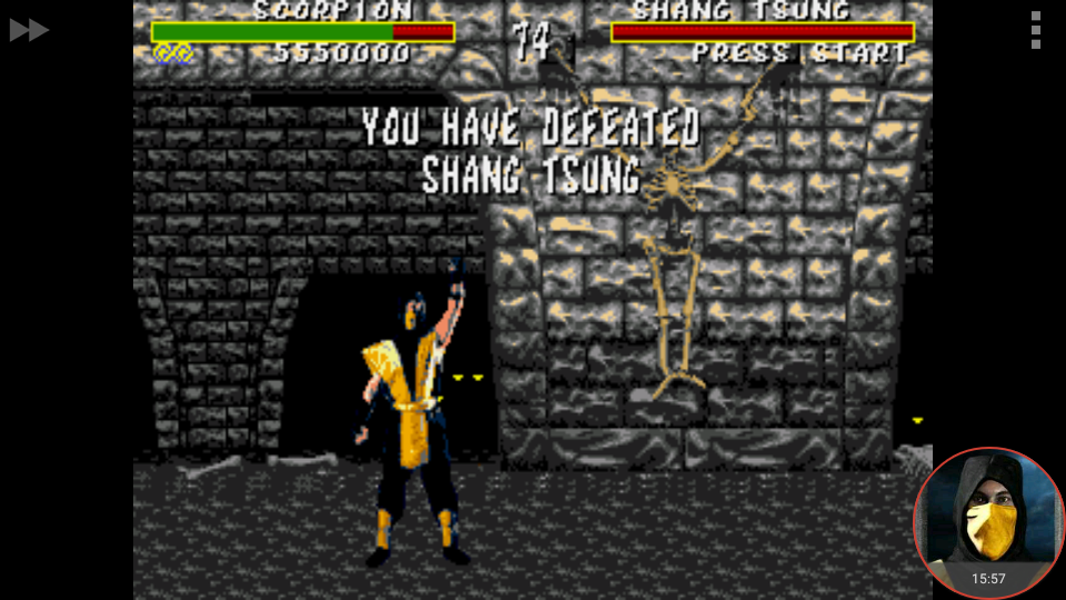 omargeddon: Mortal Kombat [Very Hard] (Sega Genesis / MegaDrive Emulated) 5,550,000 points on 2018-02-07 00:19:19