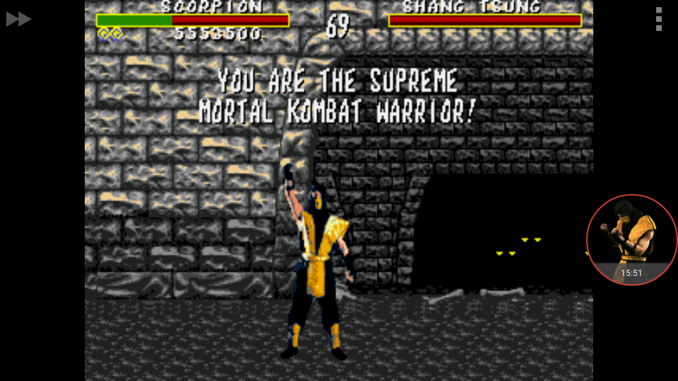 omargeddon: Mortal Kombat: Win Streak [Medium] (Sega Genesis / MegaDrive Emulated) 12 points on 2017-11-19 09:09:31