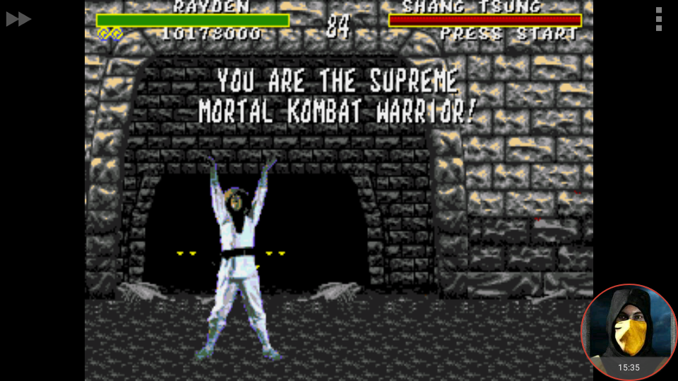 omargeddon: Mortal Kombat: Win Streak [Very Easy] (Sega Genesis / MegaDrive Emulated) 12 points on 2018-02-07 00:20:59