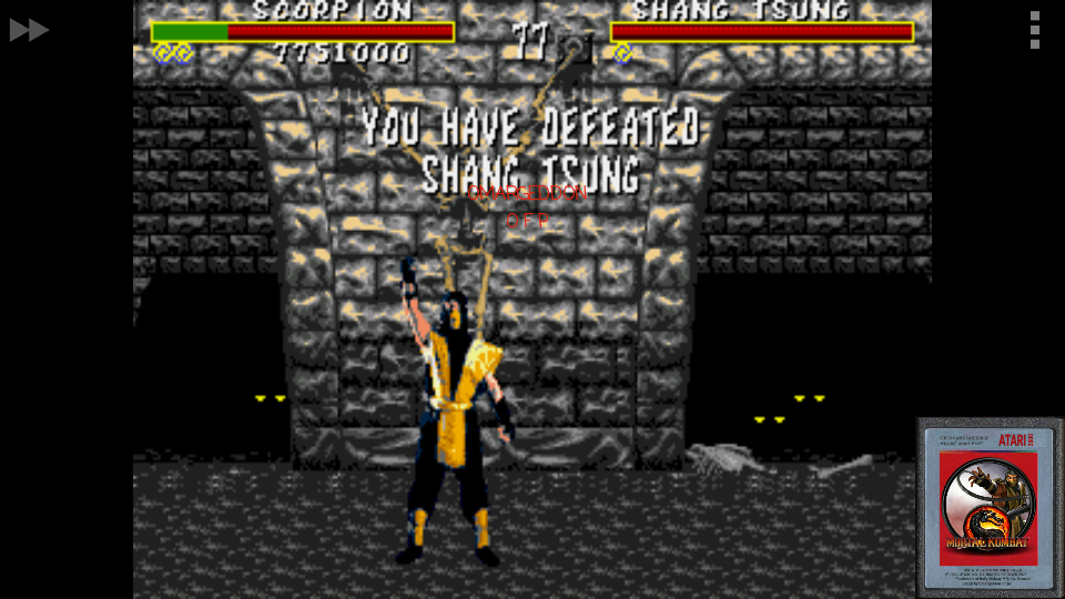omargeddon: Mortal kombat [Medium] (Sega Genesis / MegaDrive Emulated) 7,751,000 points on 2017-01-28 00:41:34