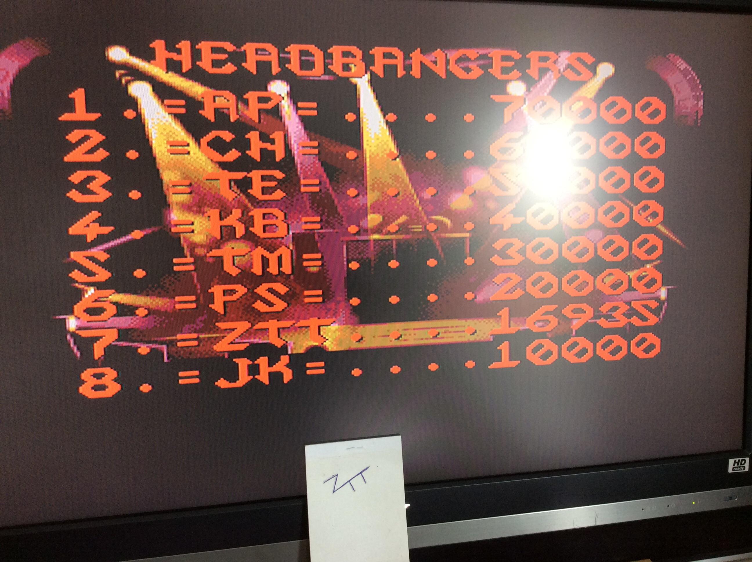 Frankie: Motörhead (Amiga) 16,935 points on 2016-09-03 06:41:23