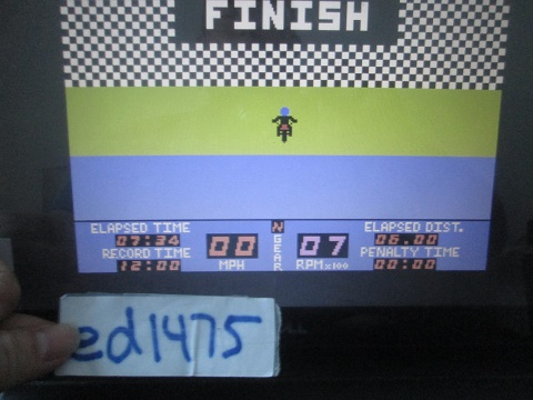 ed1475: Motocross Racer [Novice] (Colecovision Emulated) 0:07:34 points on 2017-09-21 17:41:41